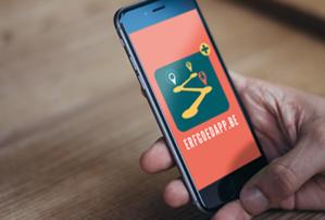 Erfgoed App op mobiel